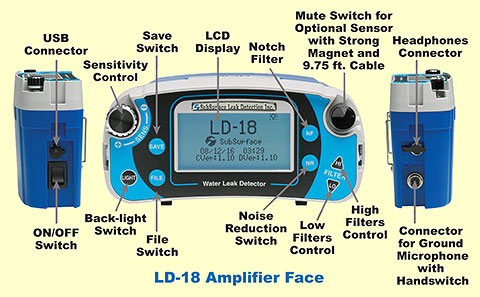 LD-18 Amplifier Face